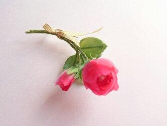 rose no.2 (片耳用ピアス)の画像