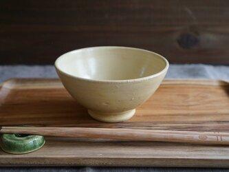たまご釉のご飯茶碗 No.323の画像