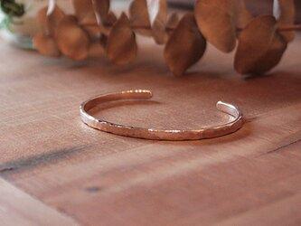 桃色銀槌目腕輪小 rb-40の画像
