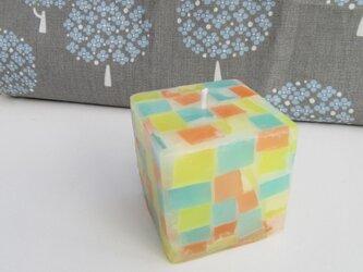 送料無料! mozaiku cube キャンドル 001の画像