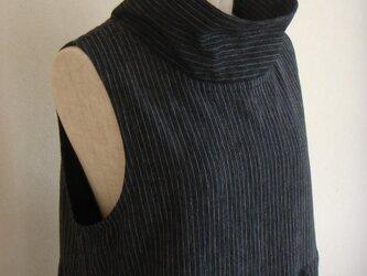 古布 襟付きジャンパースカート(総裏付)の画像