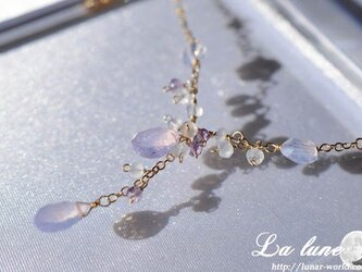 スコロライト春色ネックレスの画像