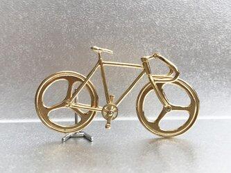 自転車ペンダント ドロップハンドル - Goldの画像