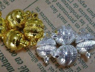 マグネットスクラブ10ミリ、金色、4個組の画像