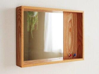 はこ鏡 欅(ケヤキ)材2の画像