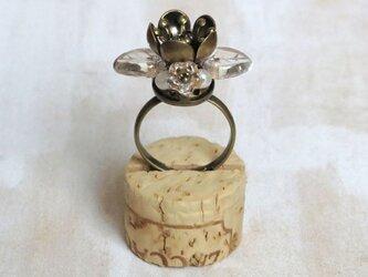 お花の指輪(おしべとめしべ 2)の画像