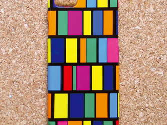 iPhone7/SE/6s/6/5s/5/5s/5c/Android スマホケース 北欧 ステンドグラス H0801の画像