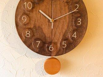 wall clock BW 振り子の画像