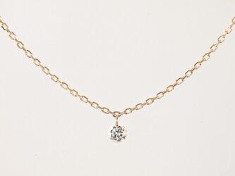 K10 Naked Diamond Necklaceの画像