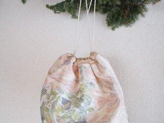circular pouch -rose-の画像