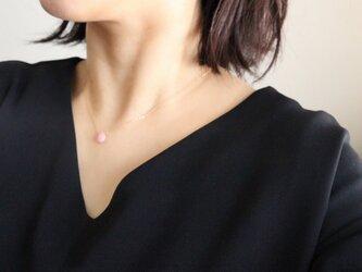 pinkopal necklaceの画像