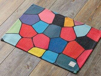 ランチョンマット 北欧柄ステンドブロック 2枚組 LAMOPPE デザイン jubileeteatoweltt029の画像