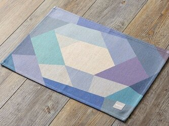 ランチョンマット 北欧デザイン ブルーパープルホール 2枚組 LAMOPPE デザイン jubileeteatoweltt023の画像