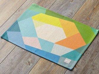 ランチョンマット 北欧デザイン イエローホール 2枚組 LAMOPPEデザイン jubileeteatoweltt021の画像