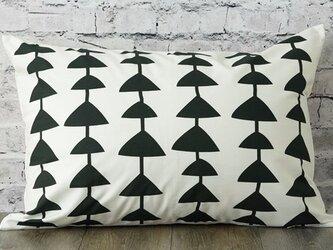 枕カバー 寝具 63×43cm ブラック トライアングル コネクト 北欧デザイン jubileemkr042ymの画像