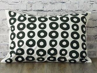 枕カバー 寝具 63×43cm サークルドットライン 北欧デザイン jubileemkr039ymの画像