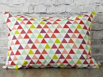 枕カバー 寝具 63×43cm スモールトライアングル 北欧デザイン jubileemkr005の画像
