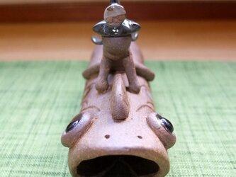 ●陶器・置物『こいのぼり・飛翔Ⅰ』の画像