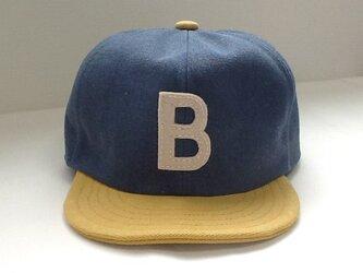 『特別注文品』アルファベットキャップ 帆布シリーズ Bの画像