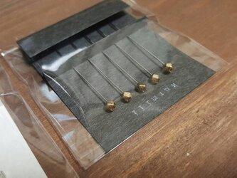 マチ針S2/ゴールド/5本セットの画像