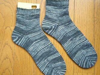 手編み靴下 opal classic9064の画像
