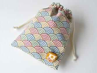 五色波の宝船・巾着袋の画像