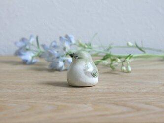 【弥生・新作】暦鳥 春のメジロ(マット)※受注制作の画像