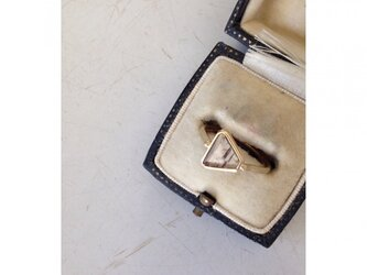 k18slice*diamond/ring(brown)の画像