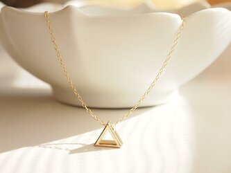 14kgf Necklace triangleの画像