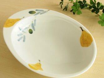 オリーブカレー皿の画像