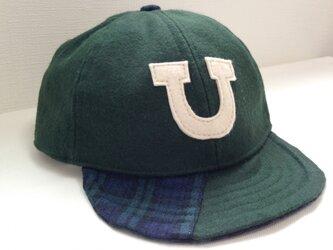 アルファベットキャップ(ローキャップ)「U」の画像