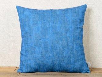 クッションカバー 45×45cm 北欧風 ブルー サンドコンフェッティ jubileecushioncc066ymの画像