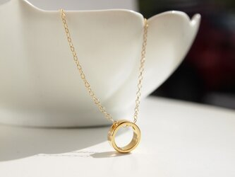14kgf Necklace roundの画像