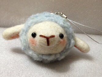 羊毛フェルト ぷくぷく羊ちゃんの画像