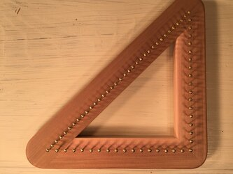 バイアス織 木枠 タイプ1  1辺 釘18本に対応の画像