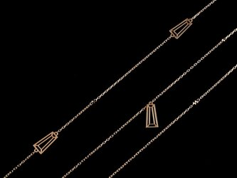 Taper Cut Long Necklaceの画像