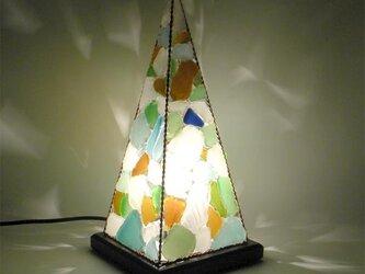 シーグラスランプ ピラミッドランプ L-11の画像
