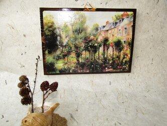 ✨くるみ工房✨ 貴方と作る壁掛け加工 絵画ルノワールの画像