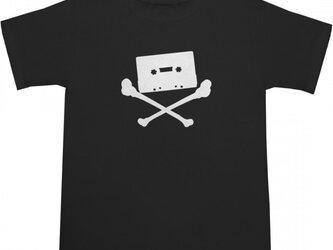 Cassette Tape Skull Tシャツの画像