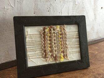 フレーム織りRectangle秋の画像