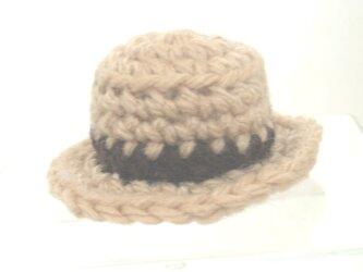 ミニチュアカンカン帽スマホクリーナーの画像