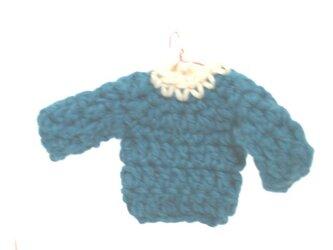 ミニチュアセータースマホクリーナー(ターコイズ)の画像