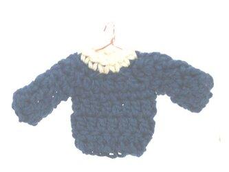 ミニチュアセータースマホクリーナー(ネイビー)の画像