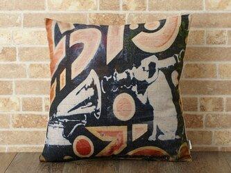 クッションカバー 45×45cm Banksy 犬 ビクタードッグ jubileecushionba012の画像