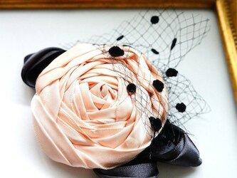 ローズヘッドドレスs/pink(全5色)の画像