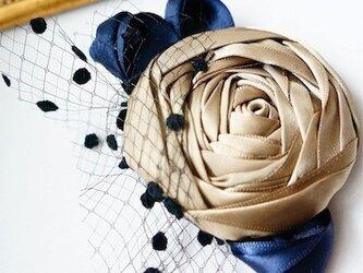 ローズヘッドドレスs/gold(全5色)の画像