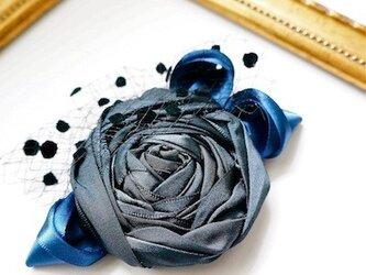 ローズヘッドドレスS/blue(全5色)の画像