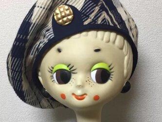 「plein soleil」retro beret tonyの画像