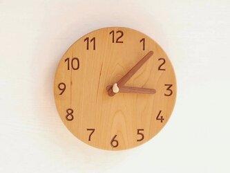 直径20cm 掛け時計 チェリー【1716】の画像
