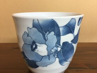椿のフリーカップの画像